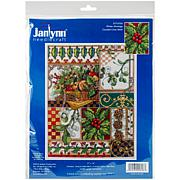 Janlynn Counted Cross Stitch Kit - Winter Montage (14 Count)