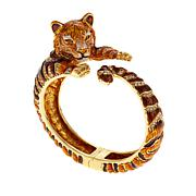 "JAY Jay Strongwater ""Call of the Wild"" Tiger Bracelet"
