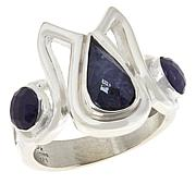 Jay King Gallery Collection Sterling Silver Tanzanite Ring