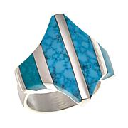 Jay King Sonoran Blue Turquoise Sterling Silver Ring