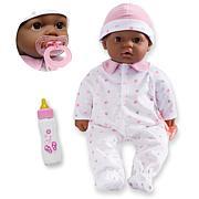 "JC Toys La Baby 16"" African American Soft Body Baby Doll"