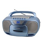 Jensen CD-590 Bluetooth Portable AM/FM Radio, Cassette & CD Player