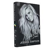 "Jessica Simpson ""Open Book"" Hardcover Book"
