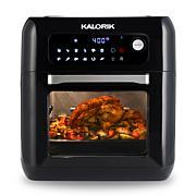 Kalorik 10-Quart Air Fryer Oven - Black