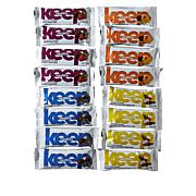 Keep Healthy 16-piece Chocolate Covered Fruit & Nut Bars