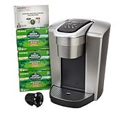 Keurig K-Elite Coffee Maker with 42 K-Cups and My K-Cup