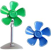 Keystone Flower Fan/Green & Blue Interchangeable Heads