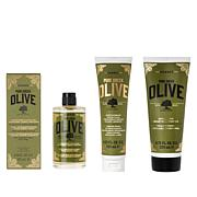Korres 3-piece Olive Oil Skincare Youth Renewal Set