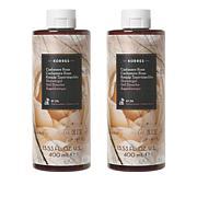 Korres Cashmere Rose Hydrating Shower Gel Duo - 13.53 fl. oz.