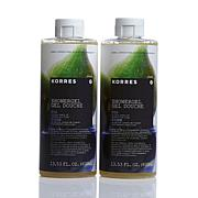 Korres Fig Hydrating Shower Gel Duo