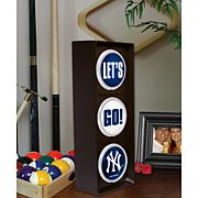 """Let's Go"" Light - New York Yankees"
