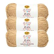 Lion Brand® Jean Colors Acrylic Yarn 3-pack