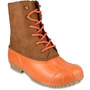 London Fog Wynter Colorblock Rain Boot
