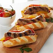 Longhini (6) 1 lb. Natural Italian Sausage Links