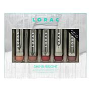 LORAC Shine Bright Alter Ego Satin Lipstick Set