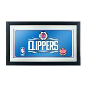 Los Angeles Clippers NBA Framed Logo Mirror