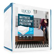 LUCID Comfort Collection Encasement Mattress Protector - Cal King