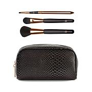 Luke Henderson Large  Case & 3pc Brush Set - Black