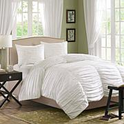 Madison Park Delancey Bedding Set White