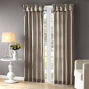 Madison Park Emilia Pewter Window Curtain