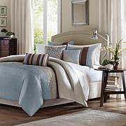 Madison Park Tradewinds Blue Duvet Set - King