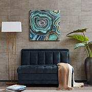 "Madison Park Wall Art - ""Aqua Agate"" by CJ Swanson"