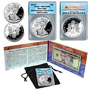 Making American History PR69 ANACS Coin & Currency Set