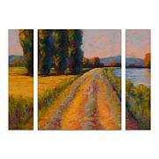 "Marion Rose ""The Levee"" Multi-Panel Art Set - 24"" x 32"""