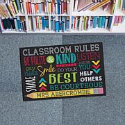 MBM Classroom Rules Personalized Doormat
