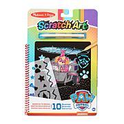 Melissa & Doug Paw Patrol Scratch Art Pad - Skye