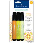 Mix and Match Stamper's Big Brush Pens - 3-pack Yellow