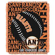 MLB Double Play Woven Throw - San Francisco Giants