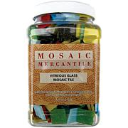 "Mosaic Mercantile Glass Tile Tub 3/4"" 2.5 Pound Pack"
