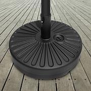 Nature Spring 50 lb. Patio Umbrella Base - Black