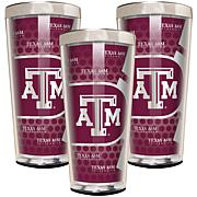 NCAA 3-piece Shot Glass Set - Texas A&M