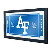 NCAA Logo and Mascot Framed Mirror - Air Force