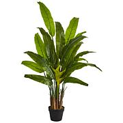 Nearly Natural 4.5 ft. Artificial Traveler's Palm Tree