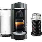 Nespresso VertuoPlus Deluxe Coffee Espresso Single-Serve w/Aeroccino