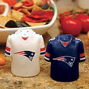 NFL Jersey Ceramic Salt and Pepper Shakers