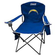 NFL Quad Chair with Armrest Cooler - Chargers