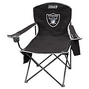 NFL Quad Chair with Armrest Cooler - Raiders
