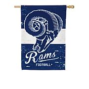 Officially Licensed NFL Vintage Linen House Flag