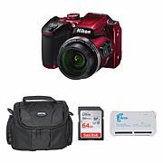 Nikon CoolPix B500 Digital Camera Bundle