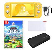 Nintendo Switch Lite Legend of Zelda Bundle with Accessories