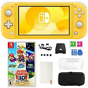 Nintendo Switch Lite with Super Mario 3D All Stars Game & Accessories