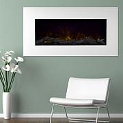 Northwest 36'' Color Changing LED Electric Fireplace with Remote-White