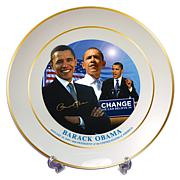 Obama Decorative Change Plate