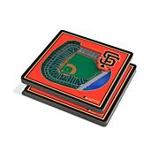 Officially Licensed MLB 3D StadiumViews Coasters- San Francisco Giants