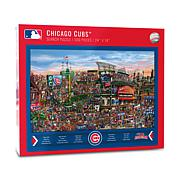Officially Licensed MLB Joe Journeyman Jigsaw Puzzle - Chicago Cubs