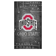 Officially Licensed NCAA Chalkboard Canvas